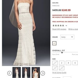 Galina Lace Sheath wedding dress